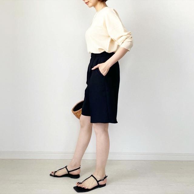 アラフォーのGU着こなし術まとめ! GUの人気アイテムで作る2021夏コーデ |40代ファッション_1_18