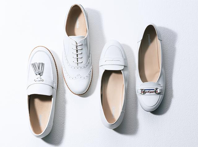 この春履きたい、白い靴をバリエーション豊富にラインナップ!