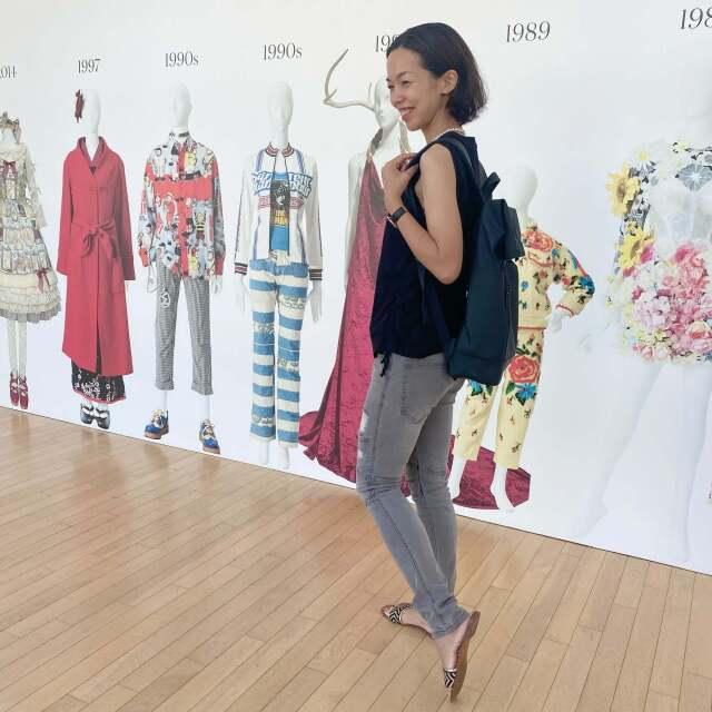 涼感ブラックコーデで、行きたかったファッション イン ジャパン展覧会へ_1_11