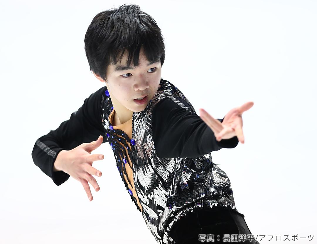フィギュアスケート男子シングル鍵山優真選手
