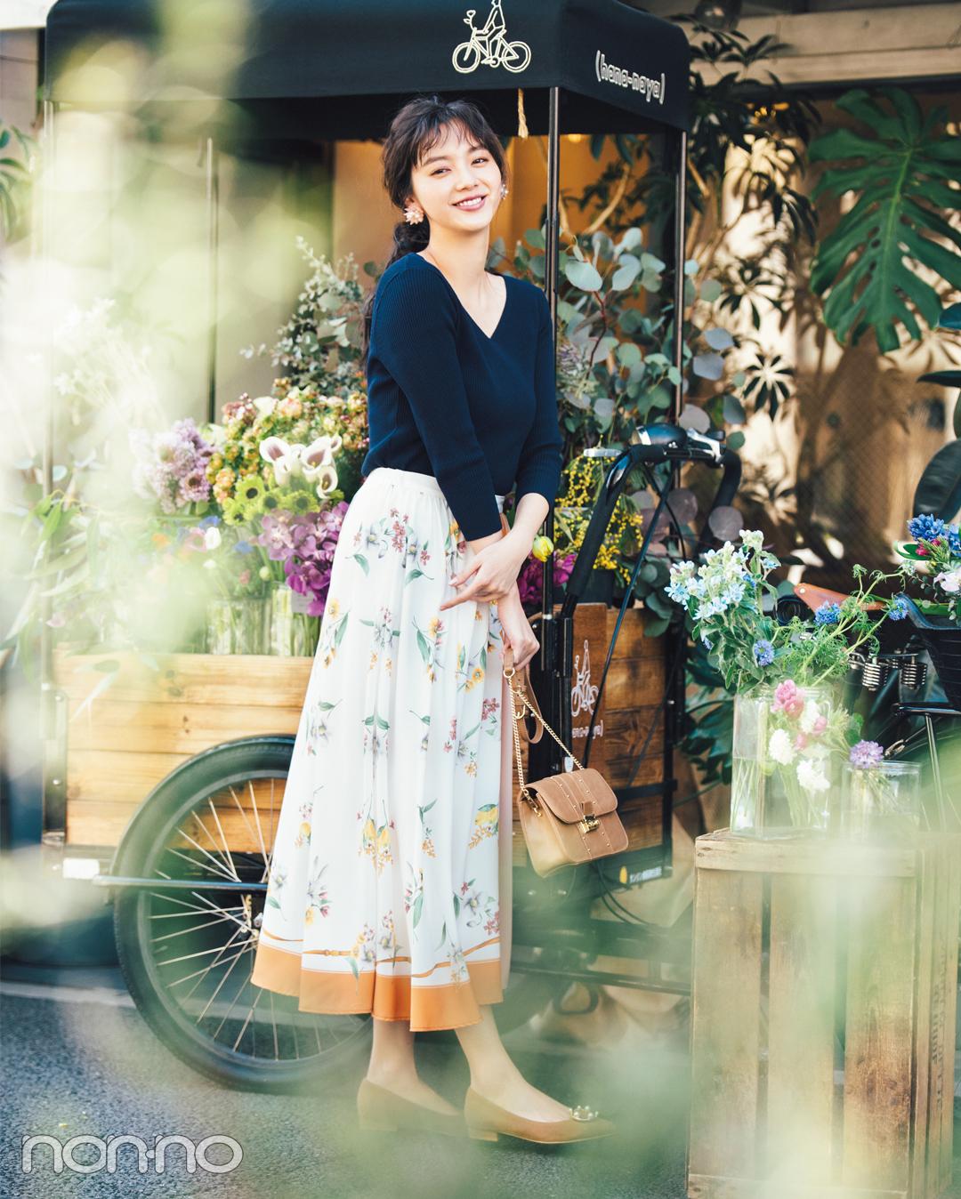 花柄スカート、差をつけるならノエラのスカーフモチーフ♡ _1_3