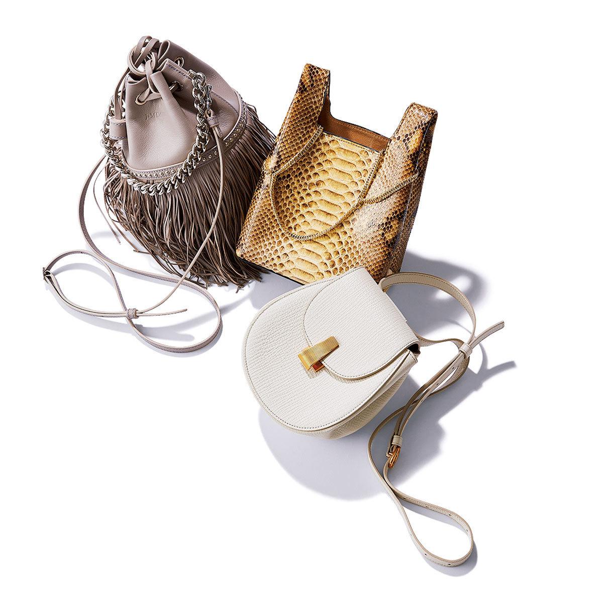 &M デヴィッドソン、ヘイワー ド、ボッテガ・ ヴェネタのバッグ