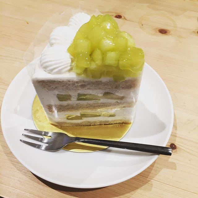 お値段も納得の美味しさ♡ニューオータニのエクストラスーパーメロンショートケーキ_1_1