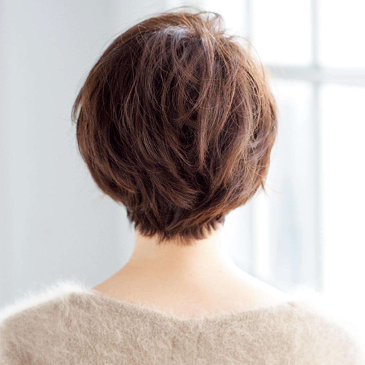スタイリング楽々で好感度もアップ!40代のためのショートヘア【40代のショートヘア】_1_4