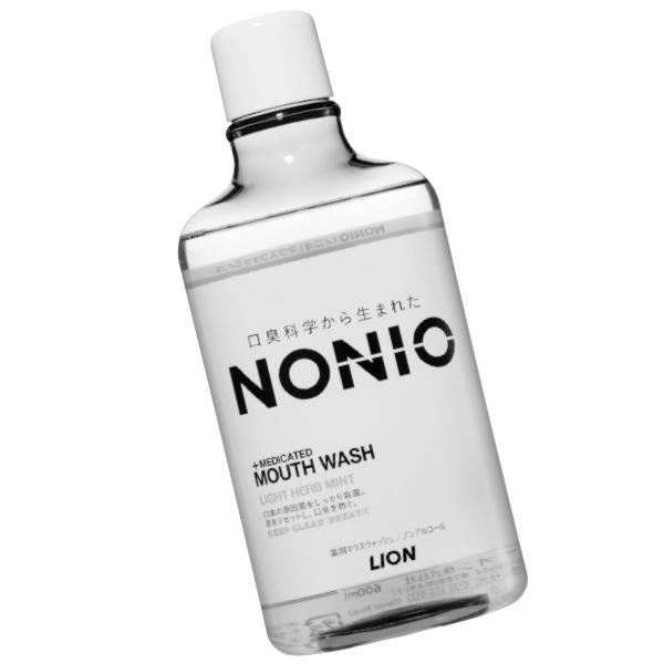 NONIOマウスウォッシュノンアルコールライトハーブミント