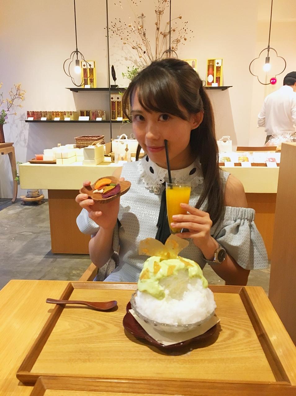 アボカドのかき氷♡麻布十番野菜菓子_1_6-1