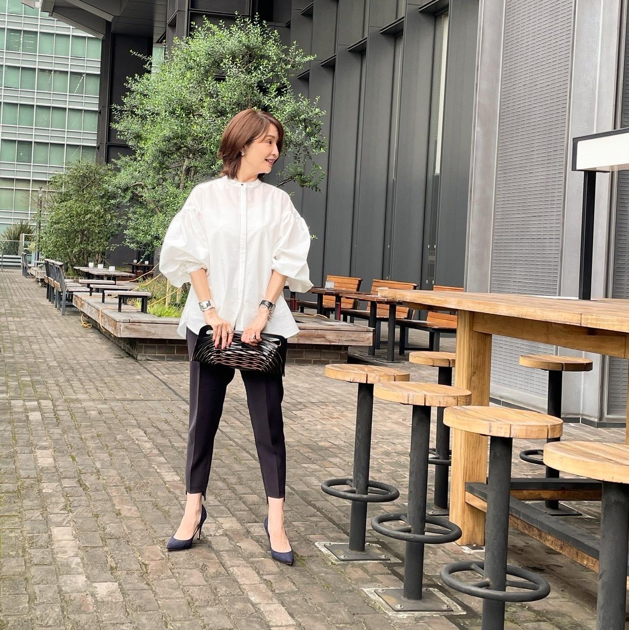 白シャツコーデ♡パンツとスカート _1_2