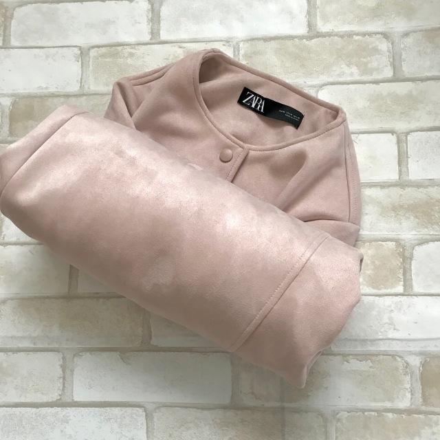 春のピンクでZARA通勤、7,990円ですごいコート買えちゃいます_1_5