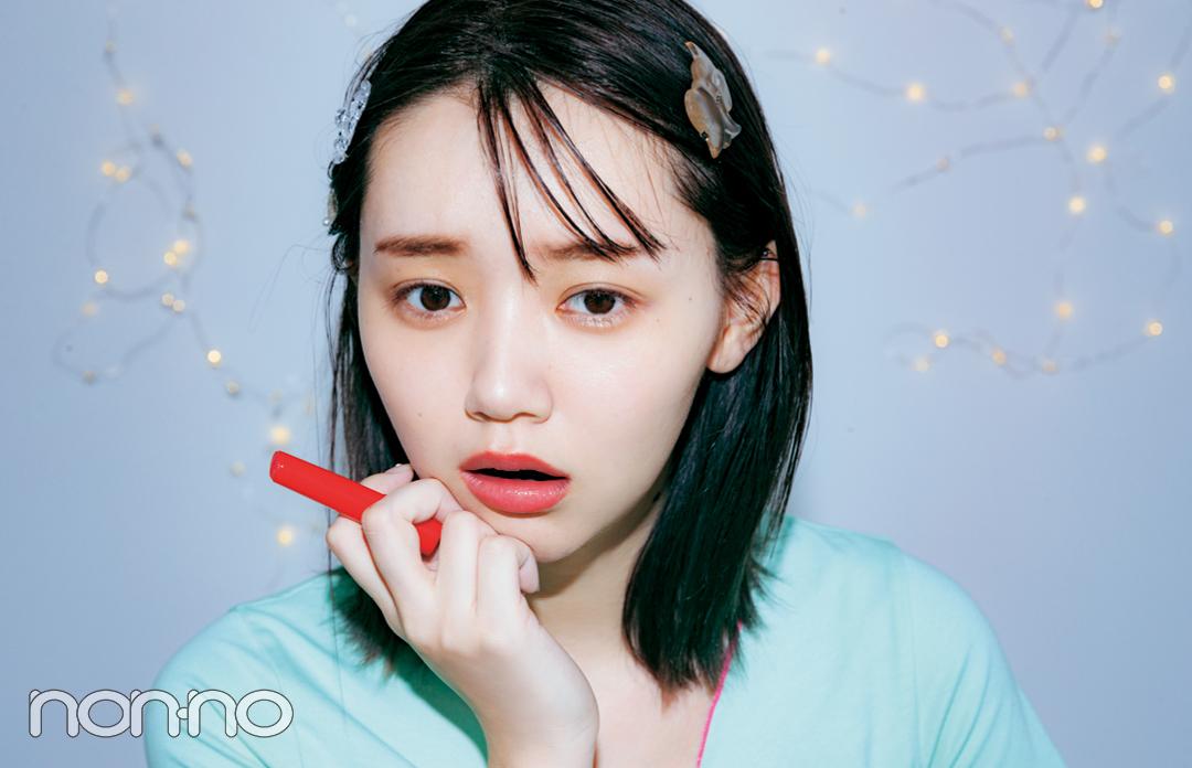 江野沢愛美のインカメ映えメイク「夜の撮影なら、テカリに見えないハイライトを!」_1_6