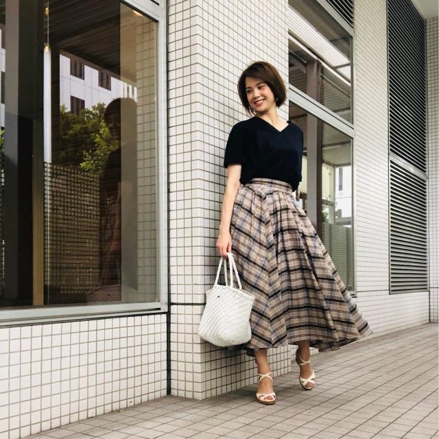色彩学から見てもやっぱりステキ♡なスカートで秋を先取り!_1_1