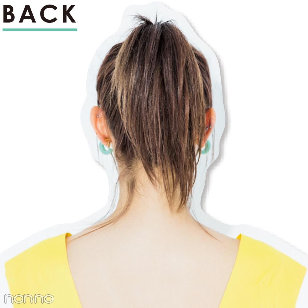 【前髪×ひとつ結びヘアアレンジ図鑑①】透け前髪×ポニテのベストバランスは?_1_4-2