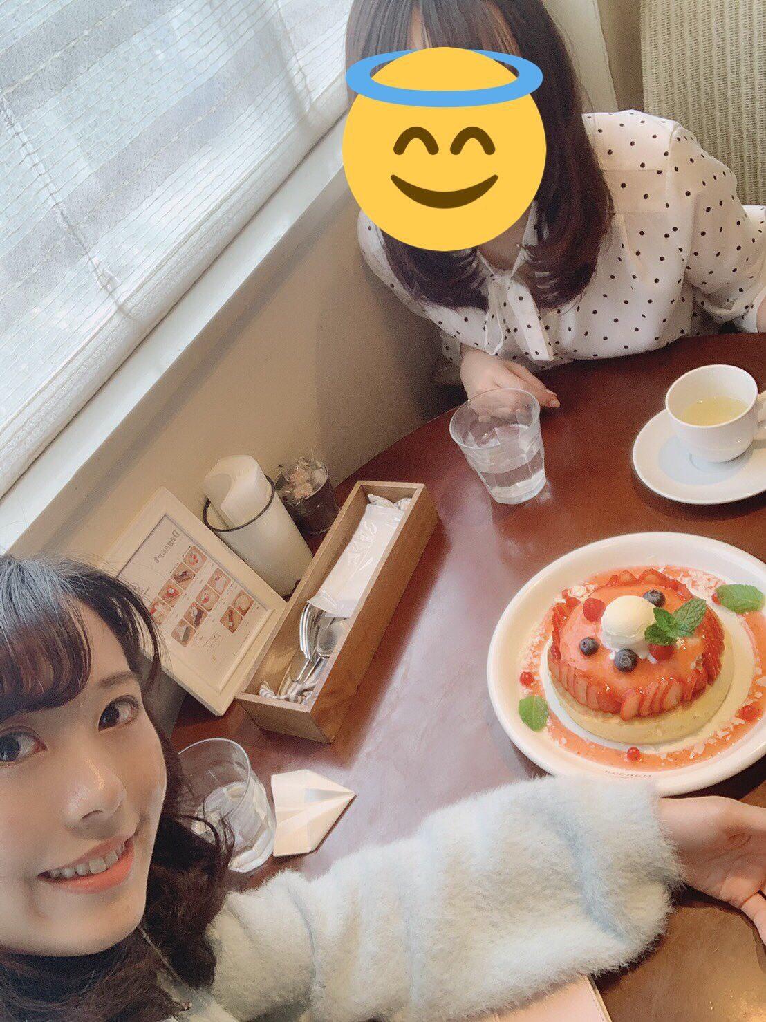 """期間限定♡""""天使のクリーム""""いちごのレアチーズパンケーキ_1_2-1"""