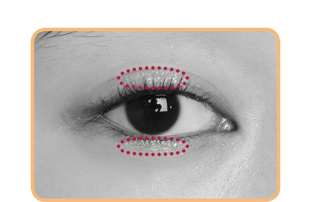 キラキラアイシャドウは、入れる場所で印象激変! 涙袋、目頭、目尻…5つのテクを伝授!_1_5-2