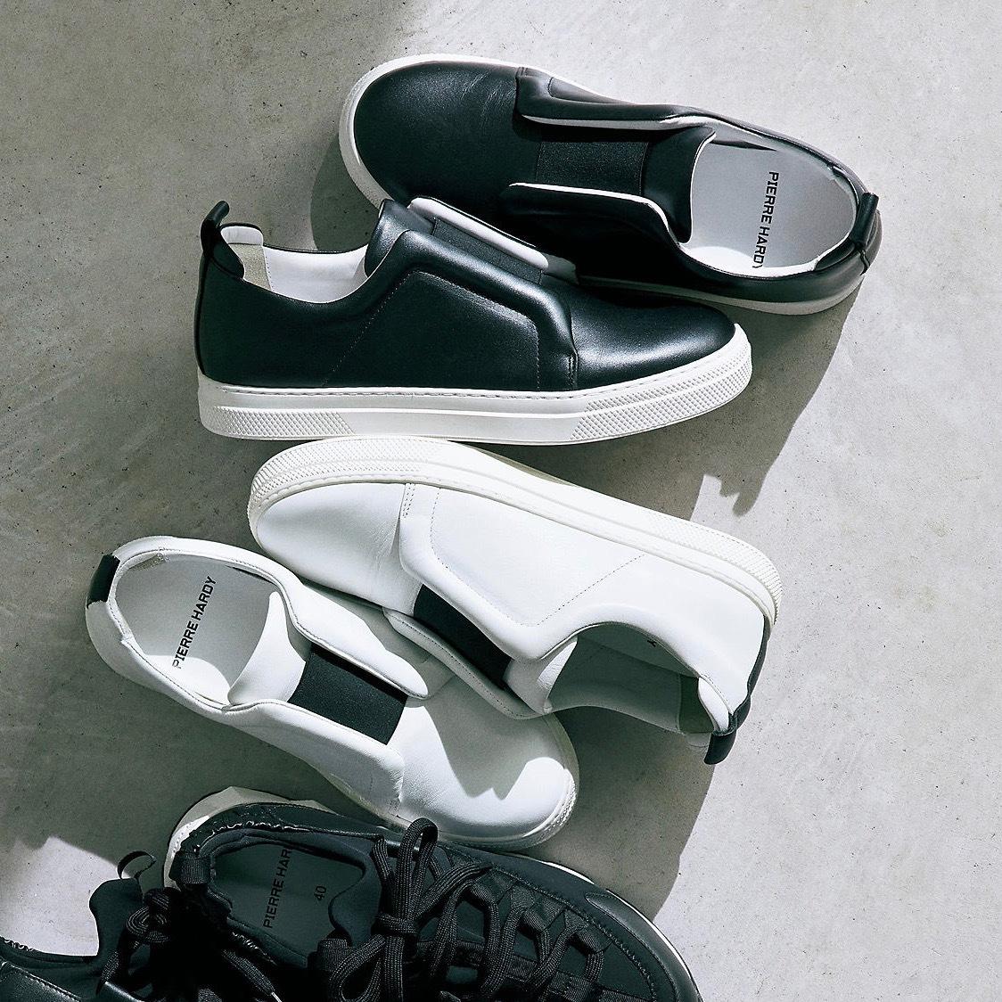 いい靴が、春を連れてくる!「PIERRE HARDY」の大人のためのスニーカー_1_2