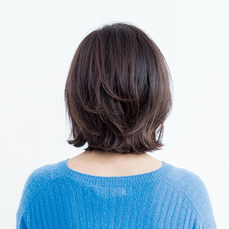 40代に似合う髪型 後ろから見たボブヘアスタイル人気ランキング1位