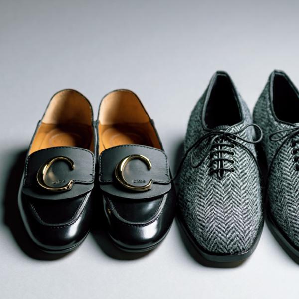 マニッシュ靴は、ちょいワルに