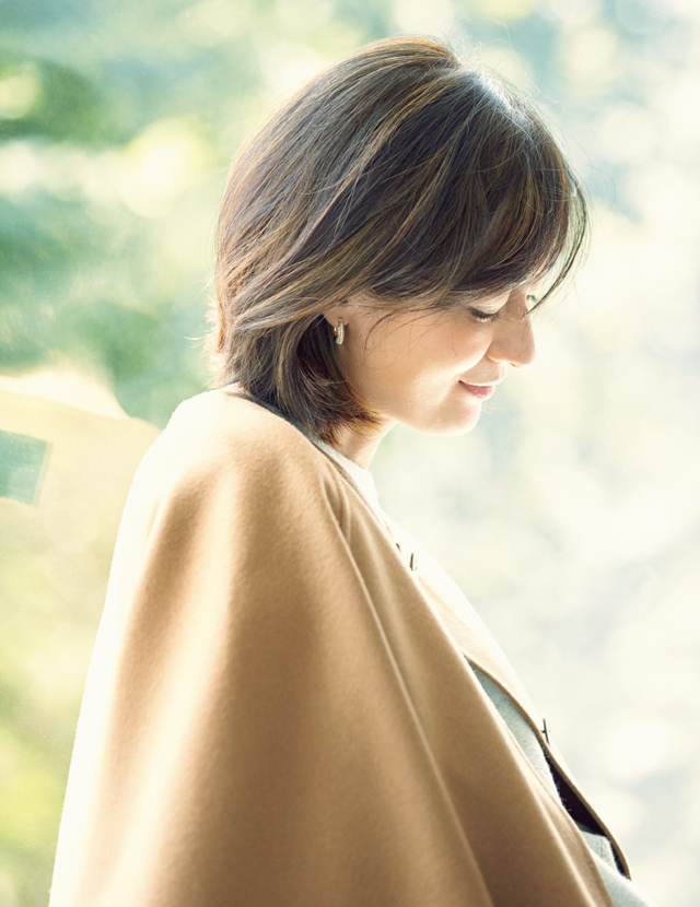 コートスタイルの富岡佳子
