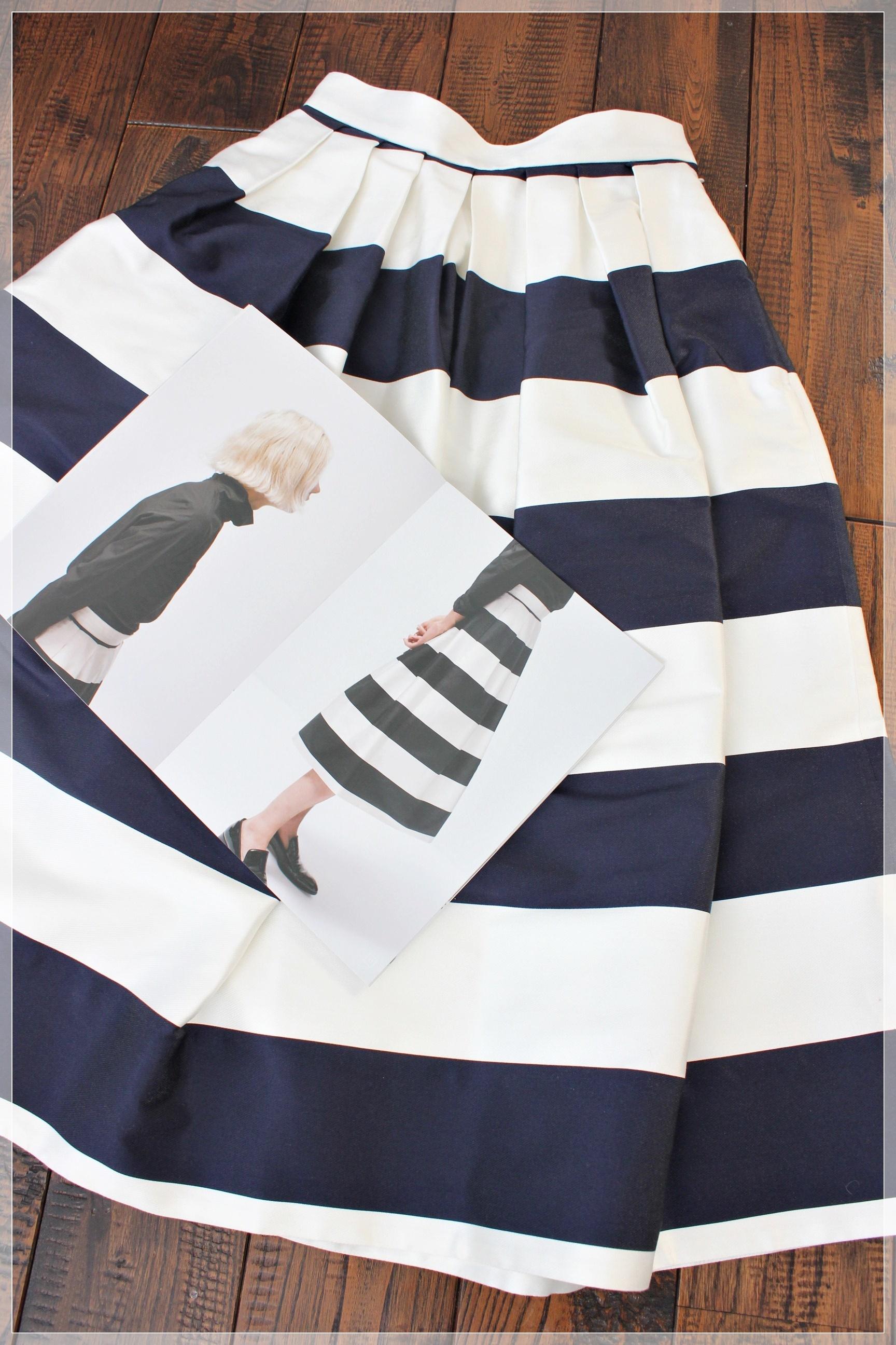 出過ぎず、存在感のある佇まい 大人の為のスカートブランド SHE Tokyoに心奪われてます♡_1_2