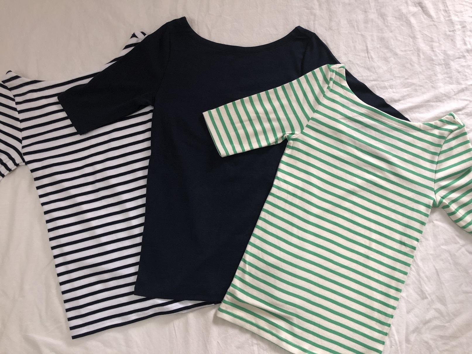 Gapでみつけたシンプルだけど、女っぷりUPなTシャツ_1_3