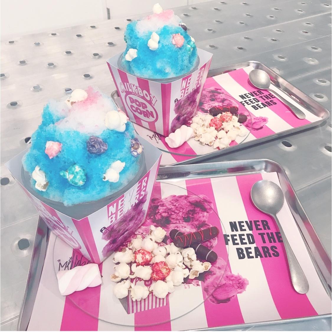 Vol.58♡ 期間限定!ポップコーン味のかき氷?!夏気分をまだ味わいたい方は是非♡_1_2