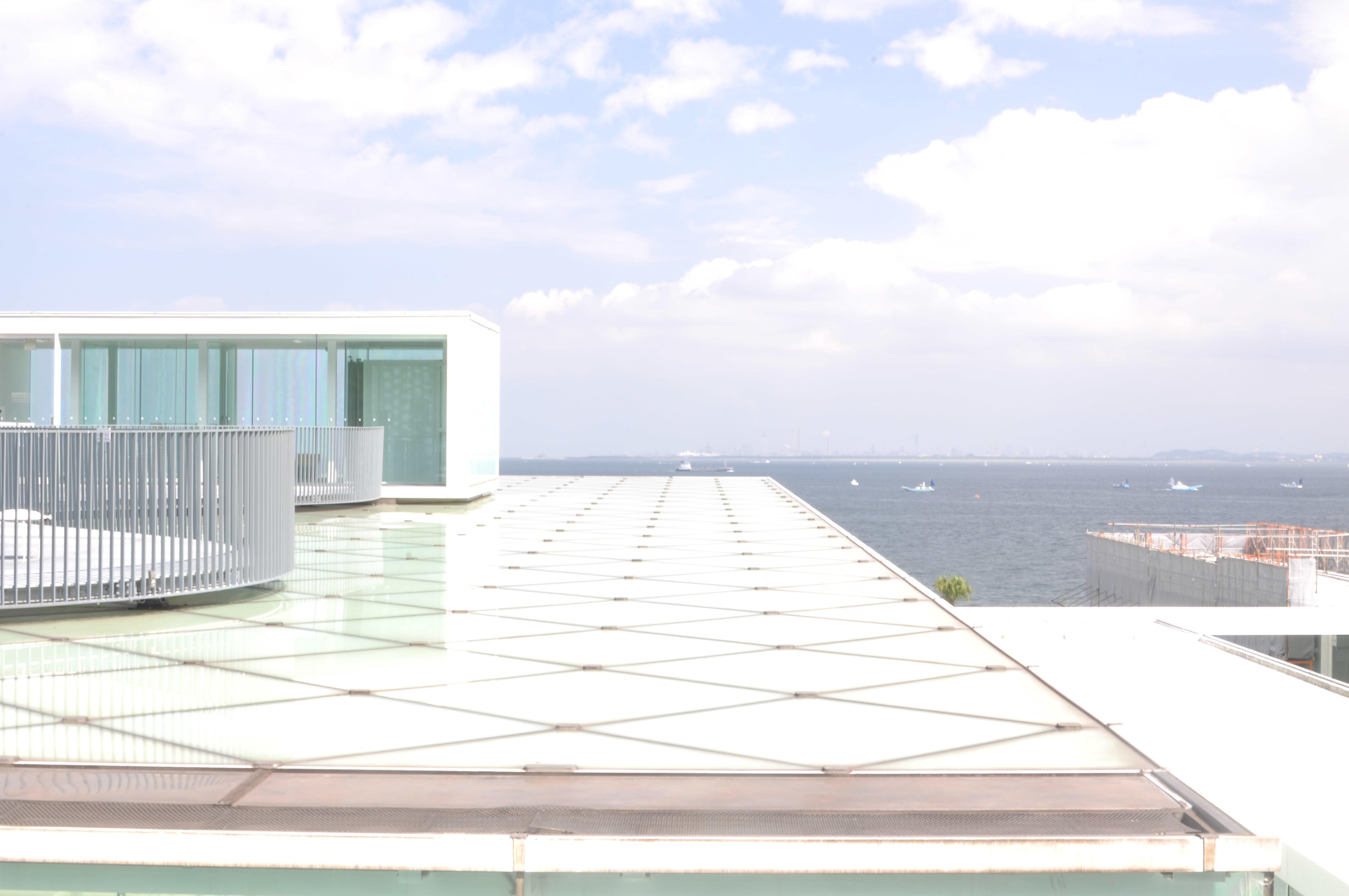 【さかぽんの冒険】空と海に癒される横須賀きっぷ❤️@横須賀美術館_1_6