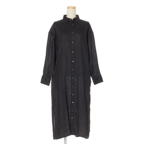 池田奈加子×Finamore シャツドレス