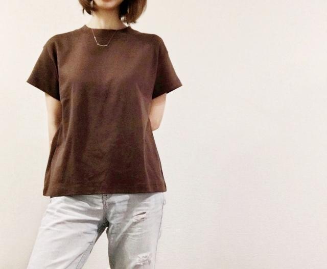 GU ジーユー スムースTシャツ
