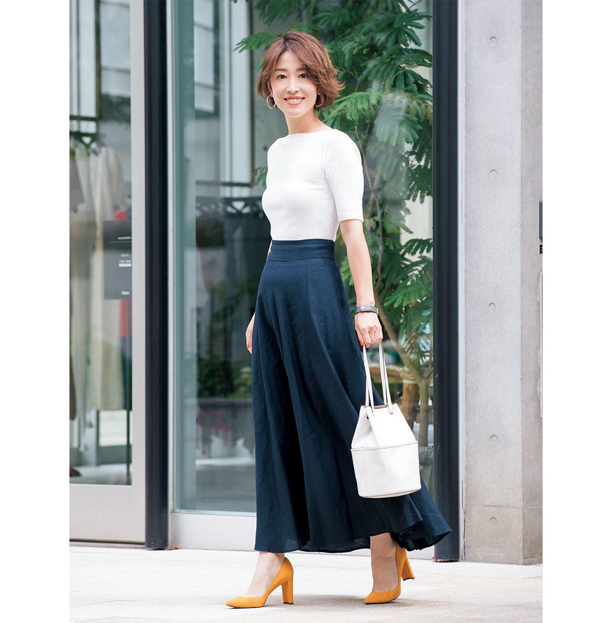 yukieさんのブルー&ネイビースタイル【美女組ファッションSNAP】_1_1-3