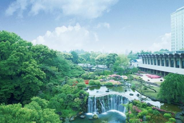 『ホテルニューオータニ』の日本庭園
