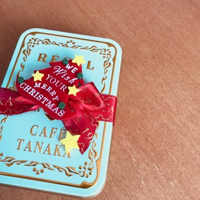 「CAFE TANAKA」レガルドチヒロのクリスマス限定缶♡_1_1