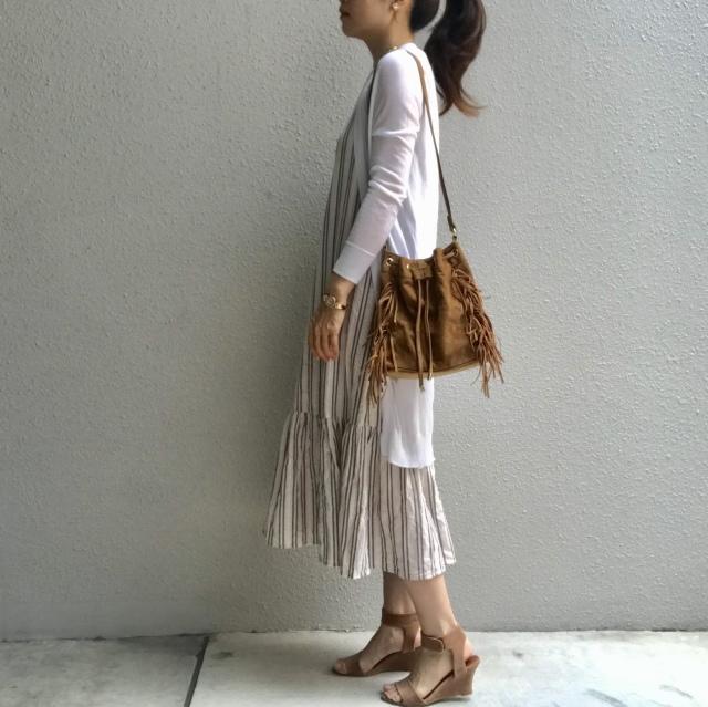 1枚で着ても羽織りをプラスしても!大活躍のZARAワンピース_1_5