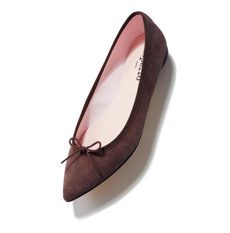 秋らしい素材、 モチーフを選択肢に。とんがりフラット靴9選_1_1-5