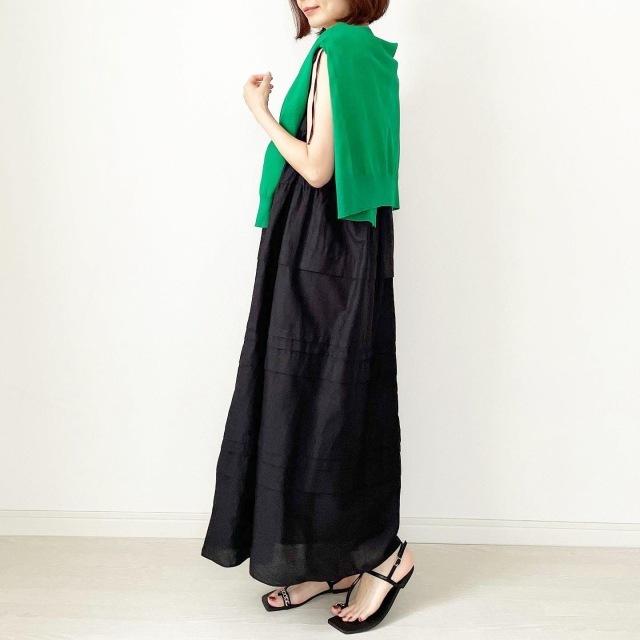 【真夏こそ映える黒コーデ】重たく見えず、シックに決まるアラフォーの黒コーデまとめ|40代ファッション_1_29