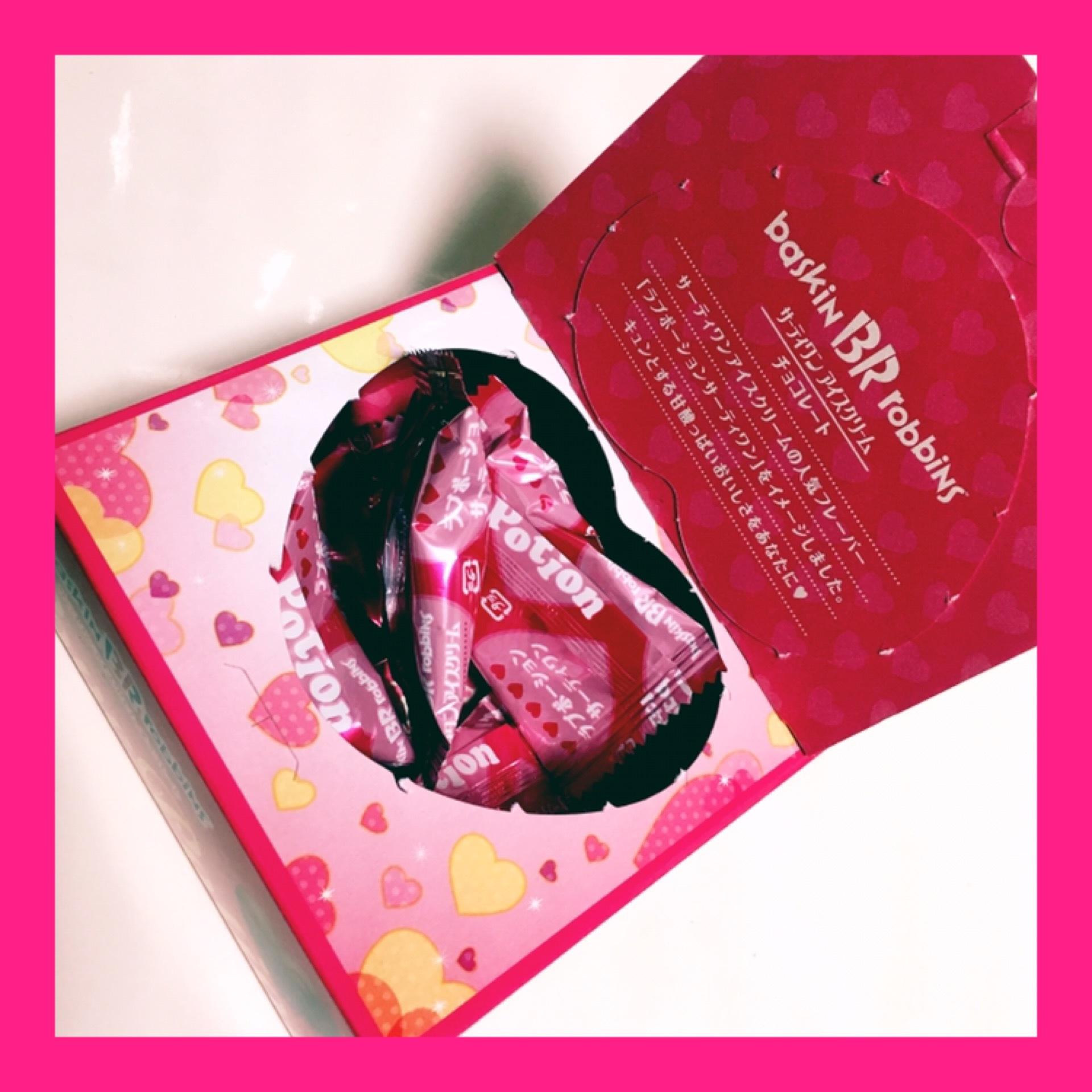 PINKのパッケージがカワイイ♡♡《サーティワン アイスクリーム チョコレート》_1_4