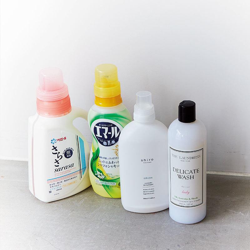 セオリーPR 高原直子さんの愛用洗剤はさらさ、エマール、shiro、デリケートウォッシュ
