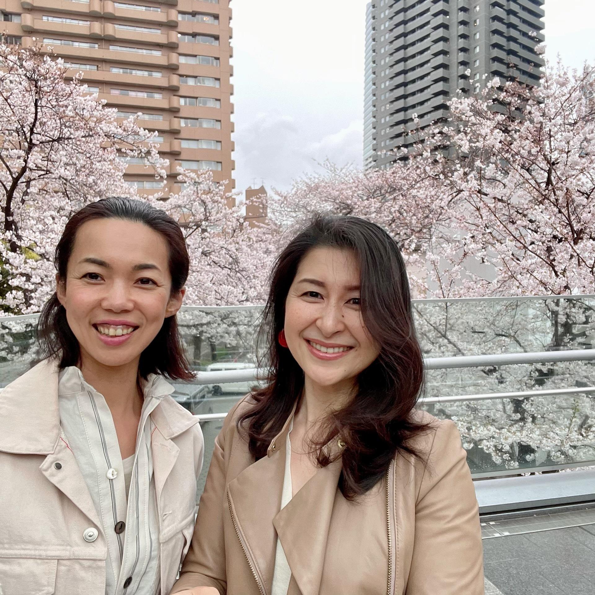 マリソル美女組かっきーちゃんと私が一緒に写った顔写真