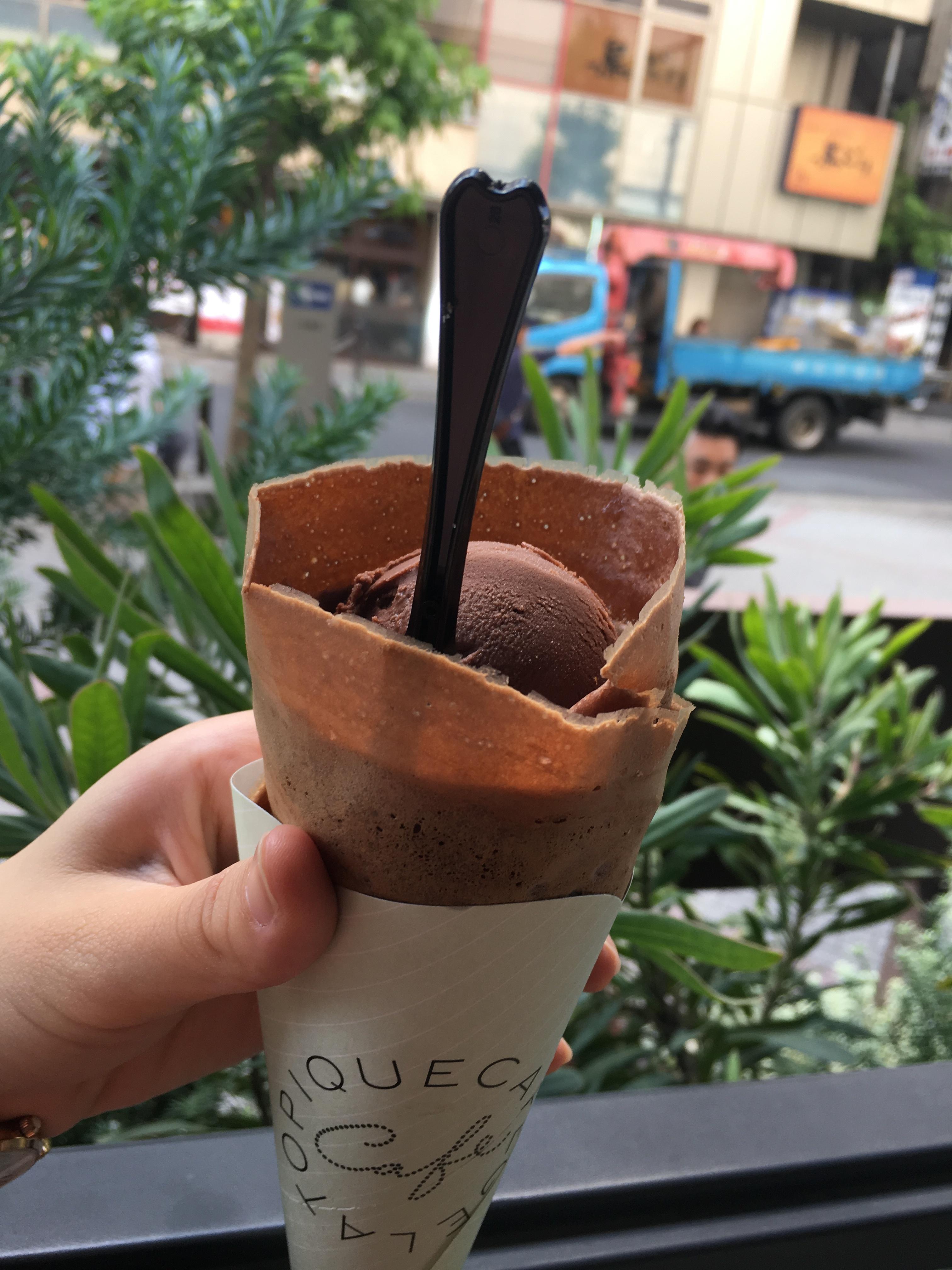 テラス席が気持ちいい♪「gelato pique cafe」_1_3