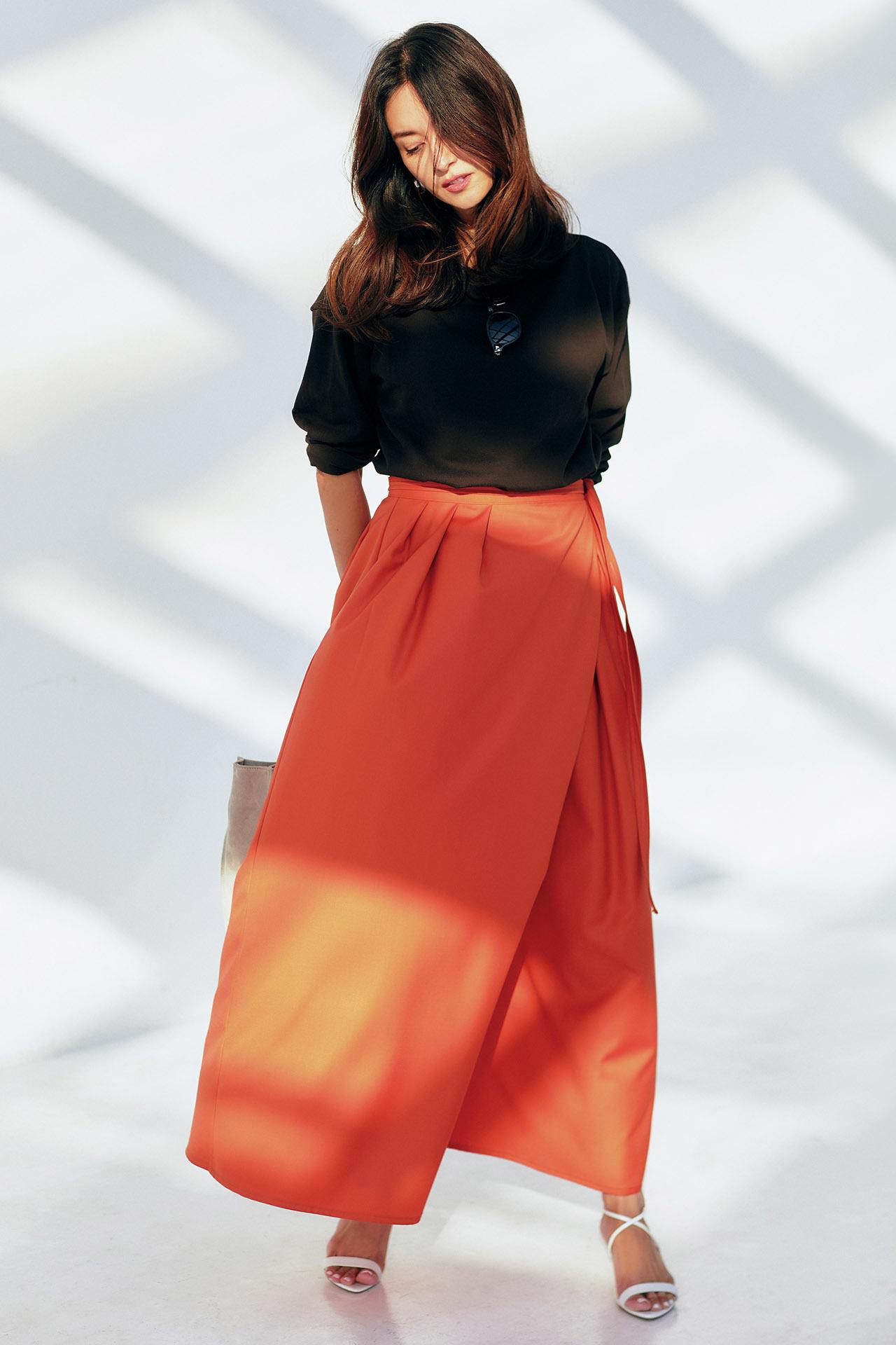 女らしさも、気分も上々。「しゃらりんスカート」で春が始まる 五選_1_1-5
