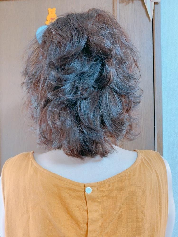 夏のヘアスタイル 頭皮洗浄ケア_1_2