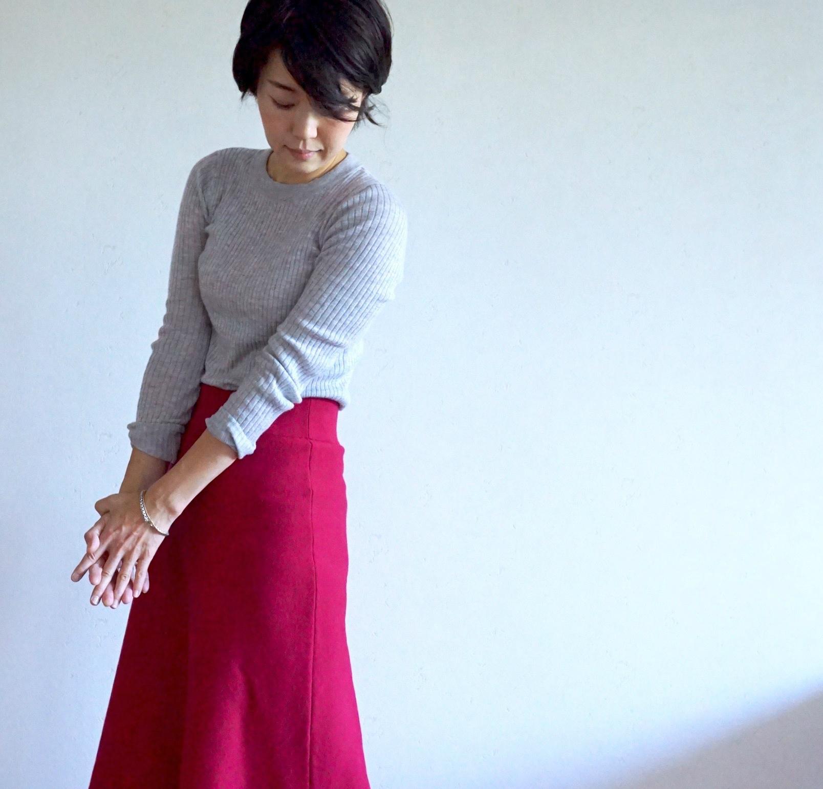 この秋の注目色「ベリー色」をコーデに投入!【マリソル美女組ブログPICK UP】_1_1-2