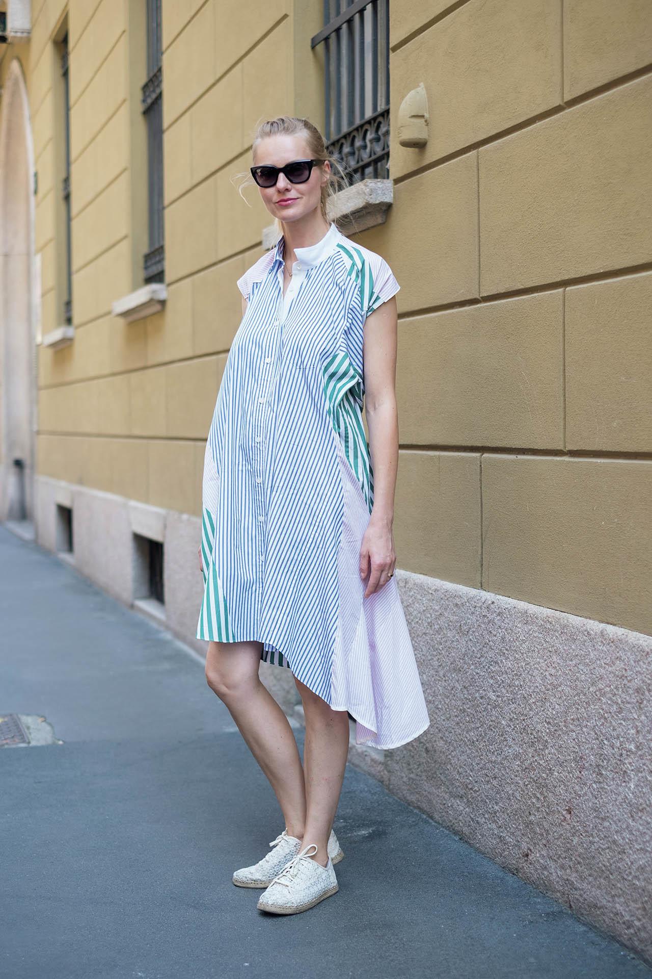 新感覚のおしゃれを楽しむ、ミラネーゼの夏ファッションスナップ 五選_1_1-1