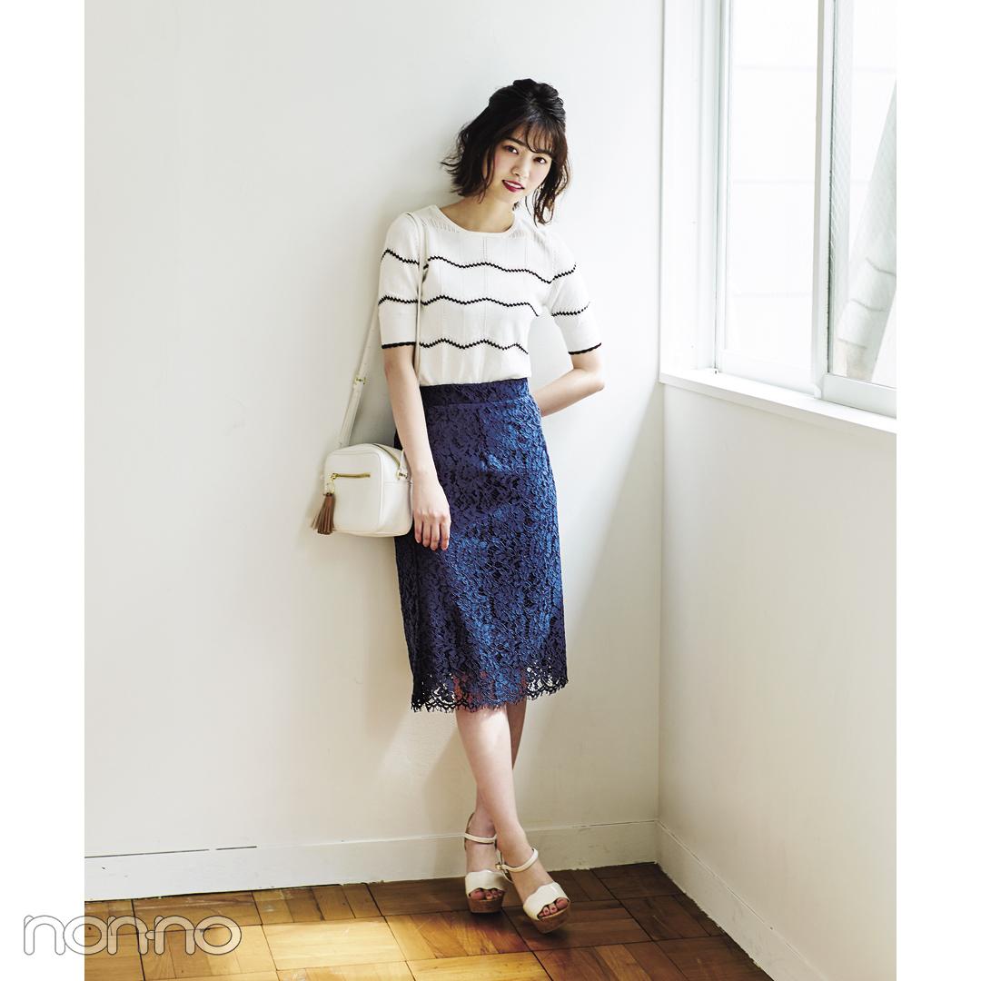 西野七瀬も登場♡ 初夏の女子会はレースの白っぽコーデで可愛げ盛り! _1_2-3