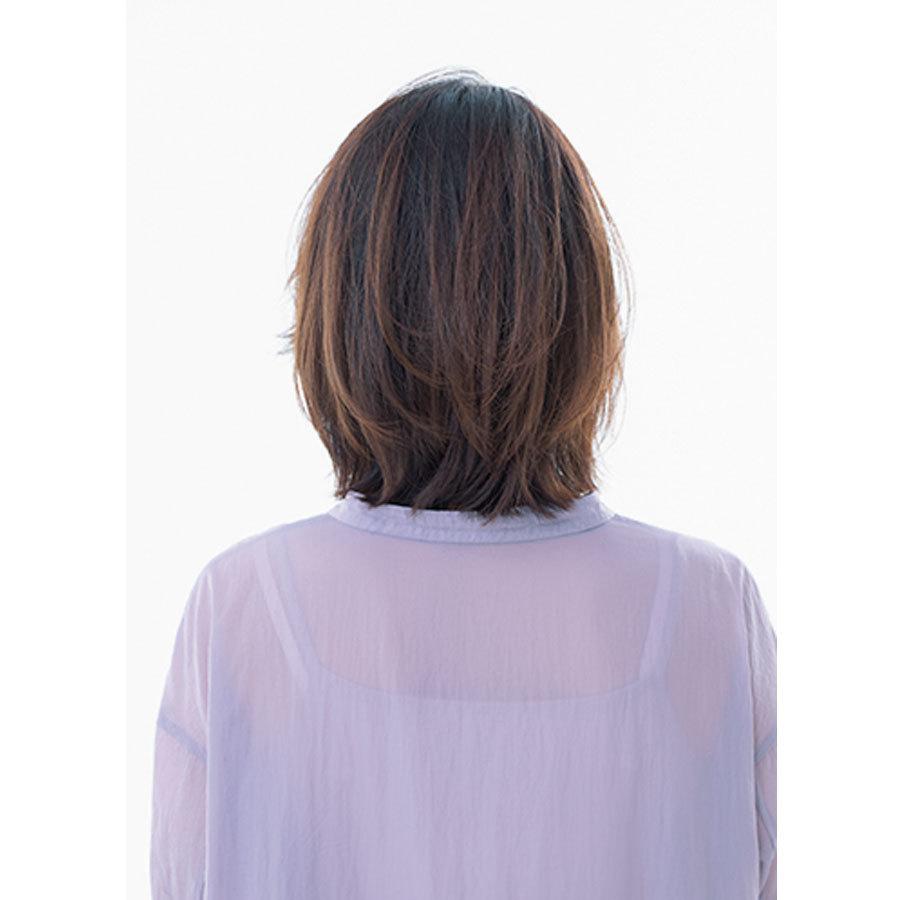 後ろから見た人気ランキング6位のヘアスタイル