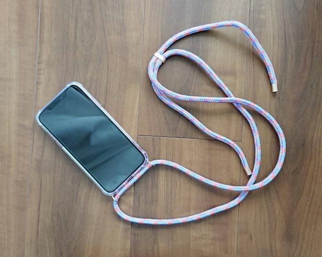 ARNO/ストラップ付きiPhoneケース・Fancy Coral(iPhone11対応)