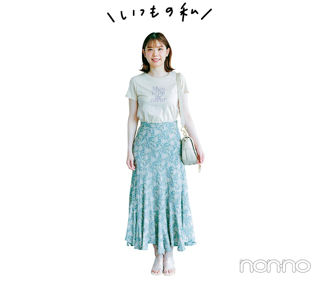 編集Hの夏服味変テクのコーデ3-3