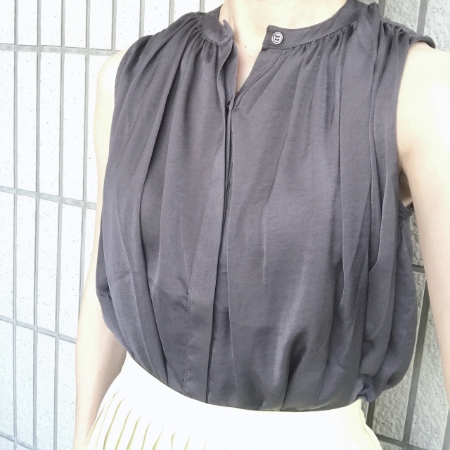 【ユニクロ】定価でも迷わず買った新色のプリーツスカート_1_6
