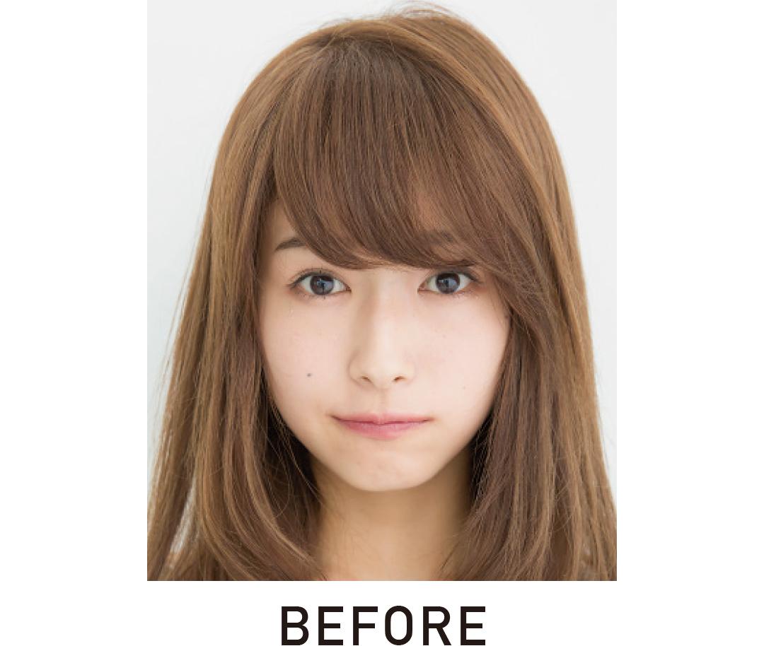 厚めの前髪を、セルフカットでシースルー前髪にする方法★超ていねい解説!_1_3