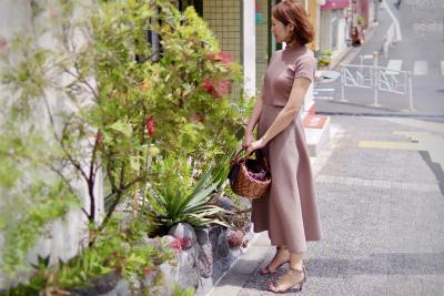 マリソル掲載、美シルエットの日本製スカート_1_2-1