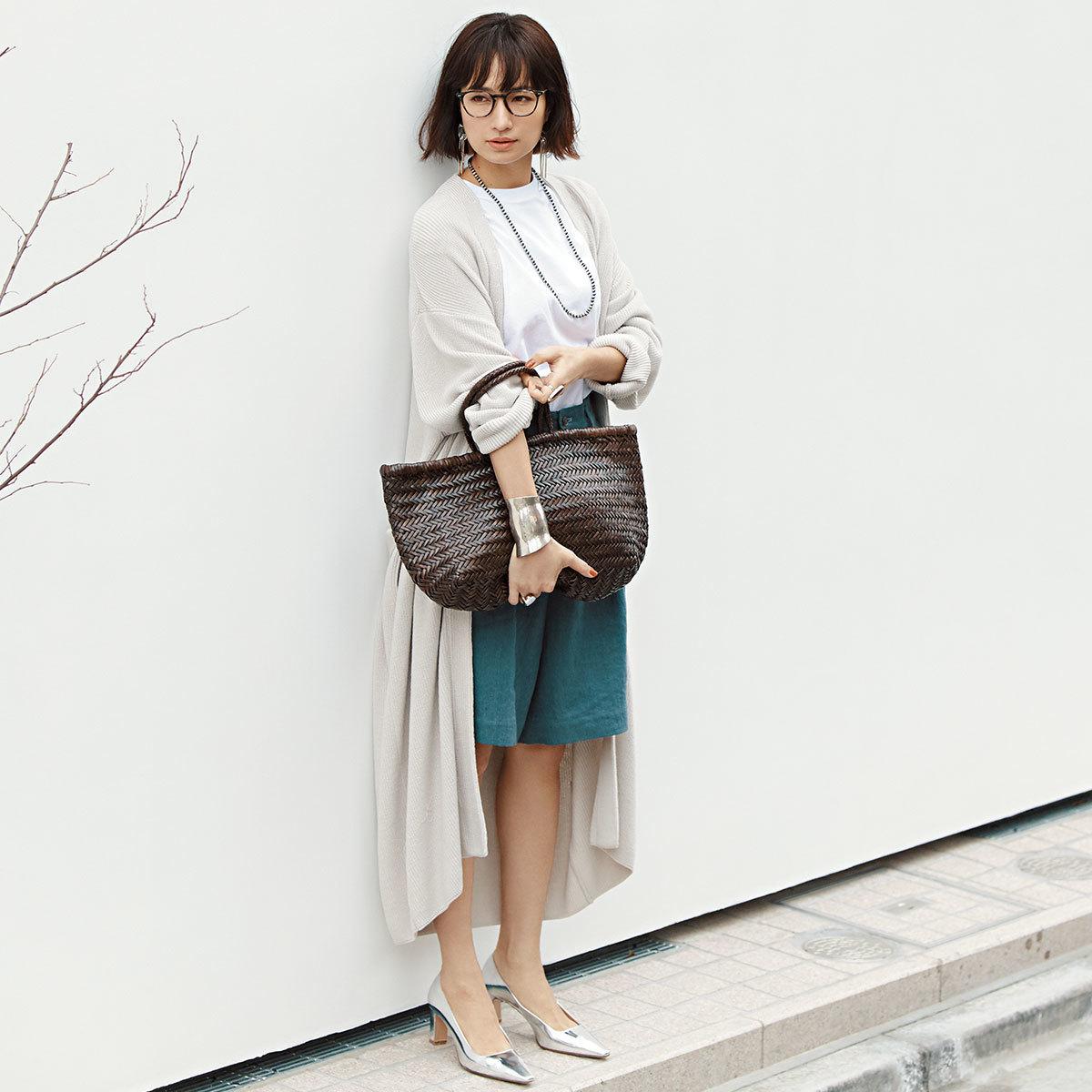 2019年夏、40代に人気のかごバッグは?   アラフォーファッション_1_7