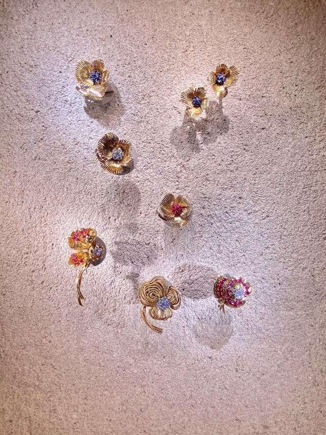 """ヴァン クリーフ&アーペルの展覧会""""ハナの光""""へ行ってきました   _1_7"""